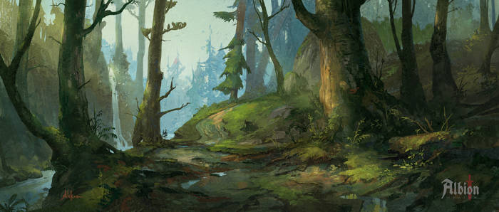 Albion Online - Forest Biome