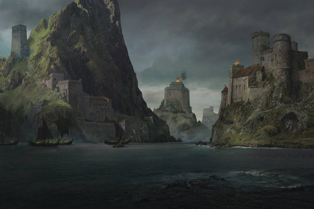 Game of Thrones - Unseen Westeros - Shield Islands by memod