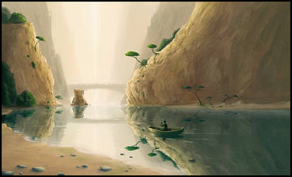 Journey in Solitude by memod