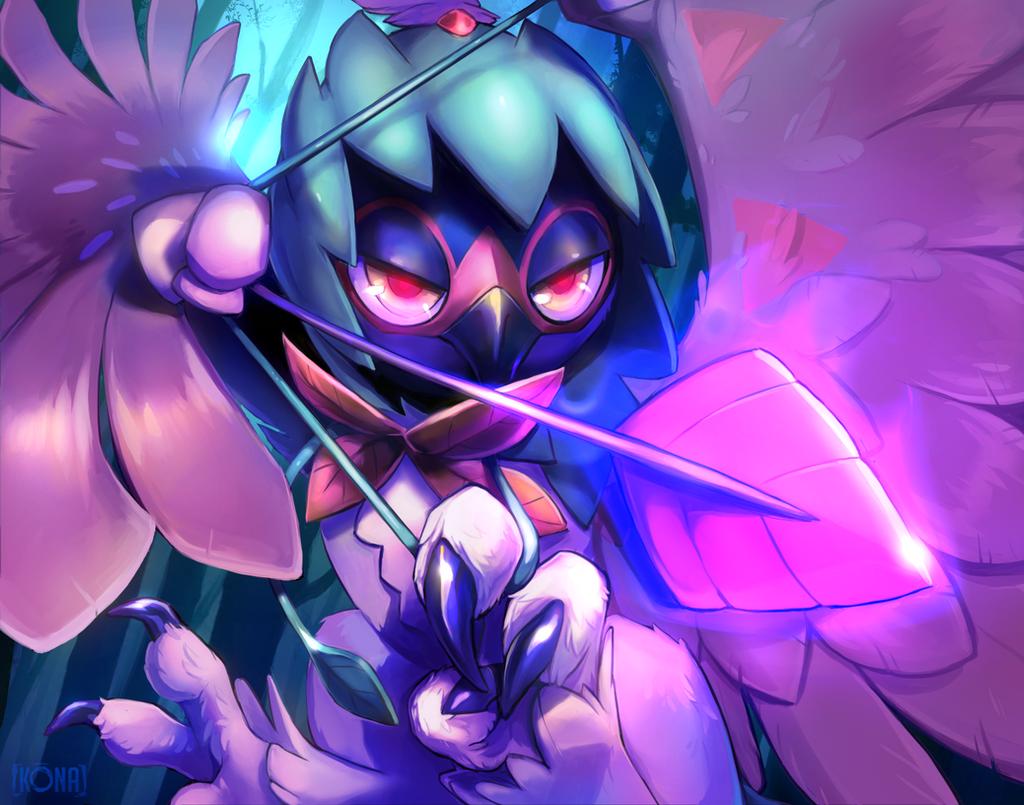 Spirit Shackle Decidueye by k-Ona