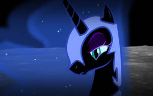 Nightmare Moon is Disappoint by fryslan0109