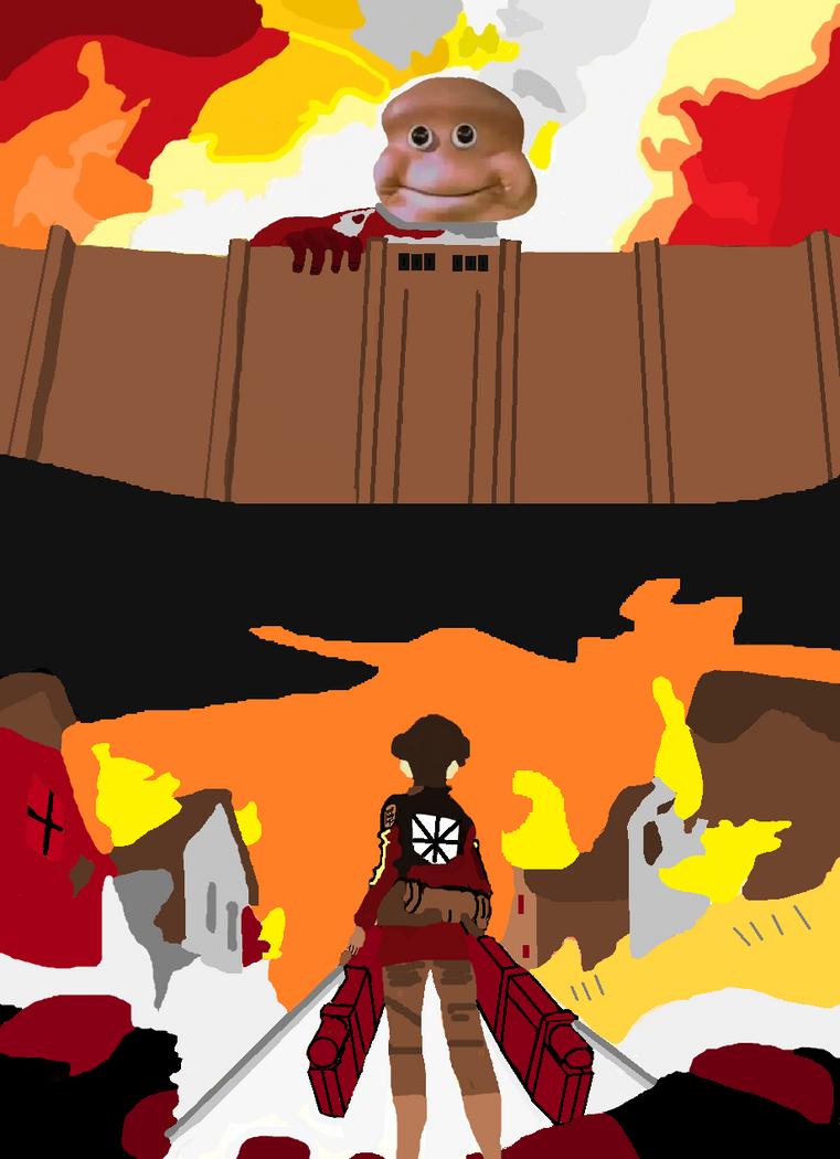 Attack on Titan fan art by PainisCupcaek on DeviantArt