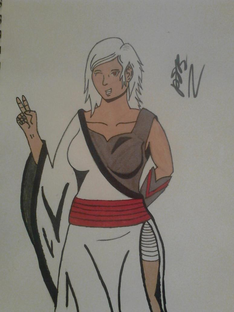 Marcia (fanart kinda) by Abaca177