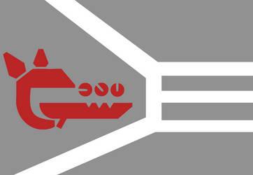 Flag of a Corron Crusader