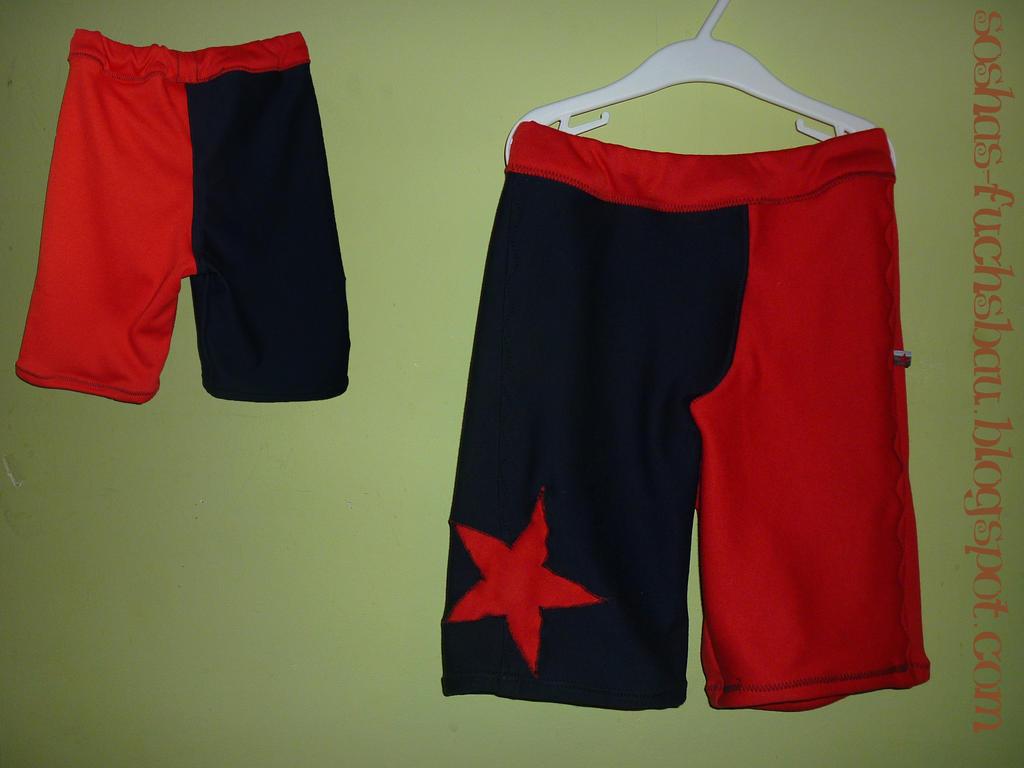 red-blue shorts by sosha89