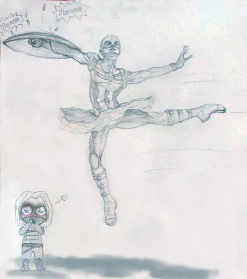 Captain America by GamerGirl84244