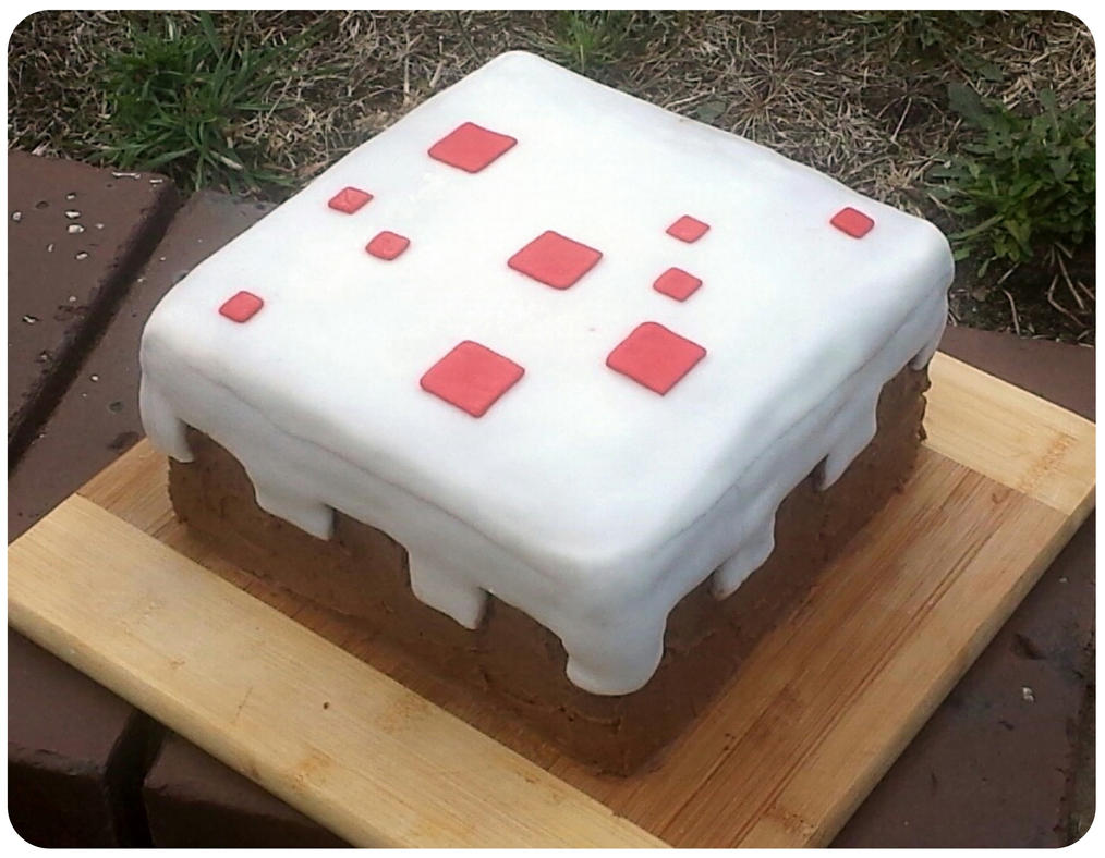Minecraft Cake by GamerGirl84244