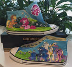 My Little Pony shoes by GamerGirl84244
