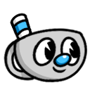 Mugman Headface by 123abcdrawwithme