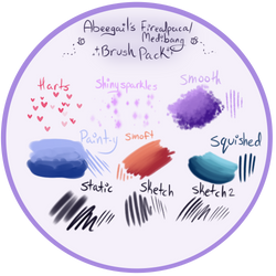 Firealpaca/Medibang Brush Pack by 123abcdrawwithme