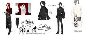 Asher and young Ophion design