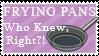 Frying Pan Stamp by Mel-Rosey