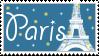 Paris stamp by Mel-Rosey