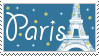 Paris stamp by Mel-Rosey