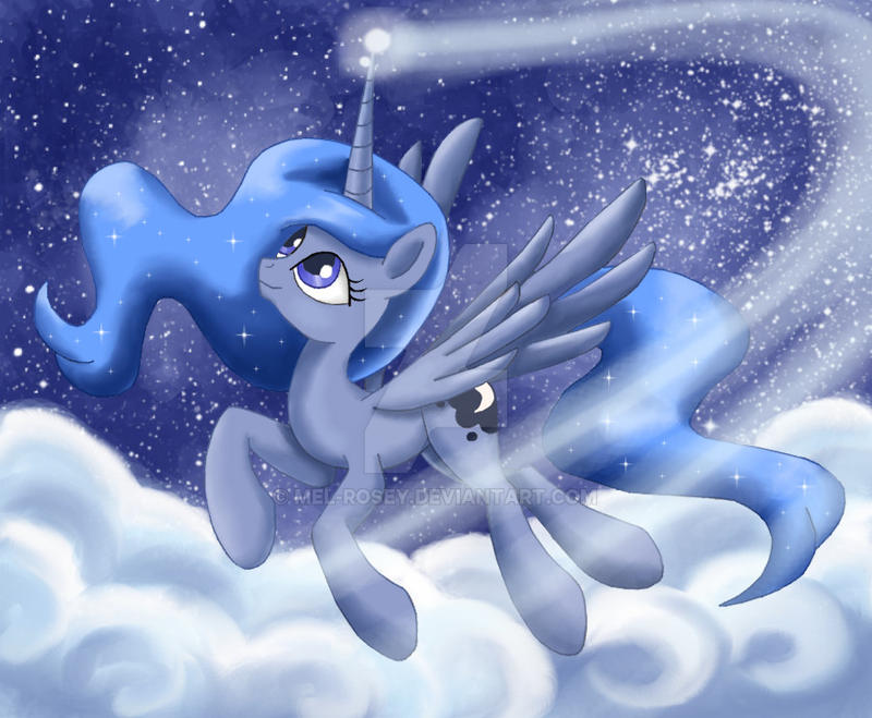 Night Shine Luna by Mel-Rosey