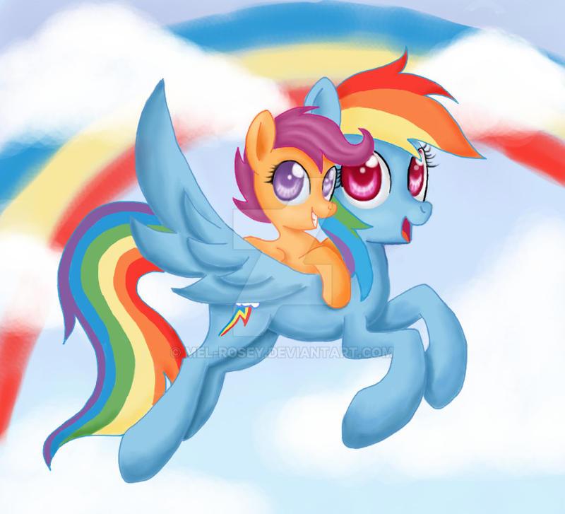 Pony Back Ride by Mel-Rosey