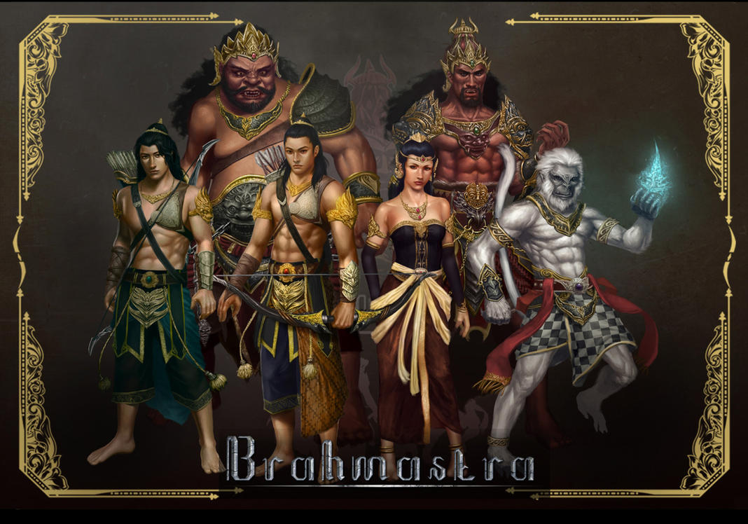 Brahmastra: Journey to Alengka, characters design by macarious