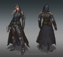 Exo Mercenary by macarious