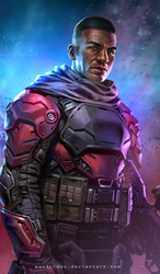 sci-fi knight