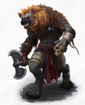 Fulgore, Gnoll Barbarian