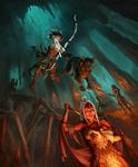 Wood elf vs drow