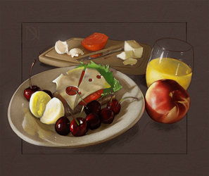 Still Life/Study of Food