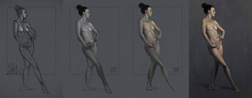 Figure Study Progression by donavanneil