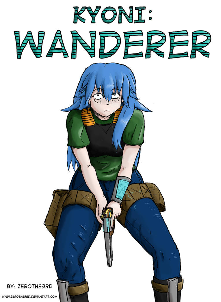 Kyoni:Wanderer. Cover.