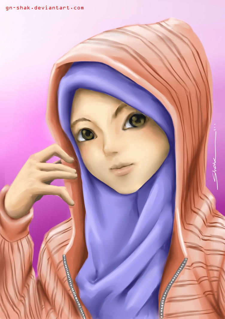 Anime Naruto Berjilbab Muslimah By Gn Shak On Deviantart