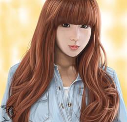 Digital portrait painting by GN-SHAK