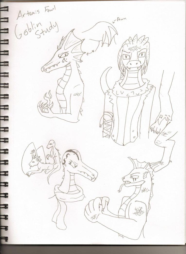 Artemis Fowl Goblin Study By Wolfjmk On Deviantart