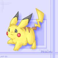 Pikachu by stardroidjean