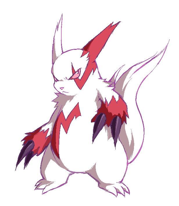 Z is for Zangoose by stardroidjean