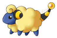 Widdle Mareep by stardroidjean