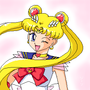 Sailor Moon S by stardroidjean