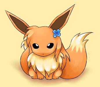Lilyprower Eevee by stardroidjean