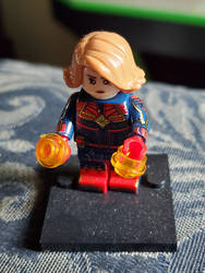 Captain Marvel (Wrong hair color)