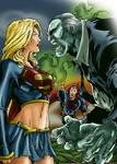 Supergirl vs Solomon Grundy