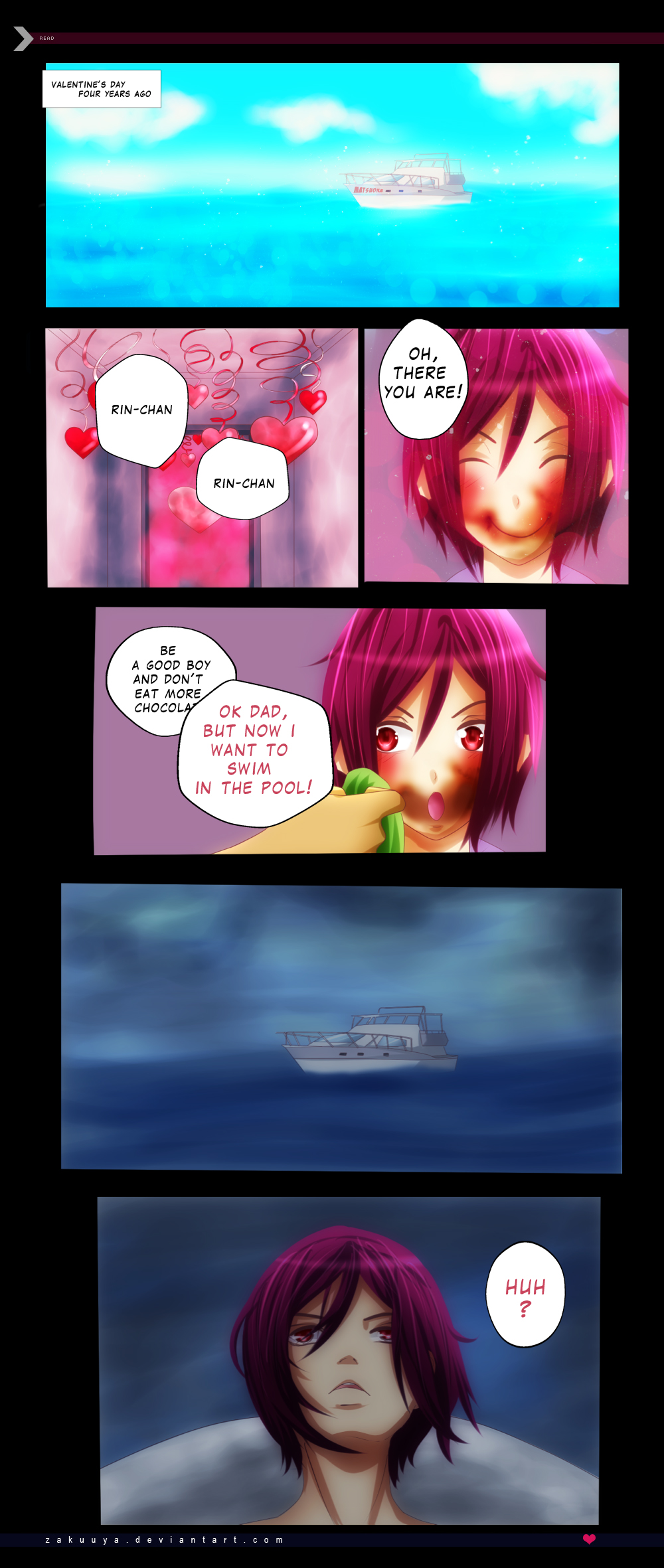 RinHaru: A Mermaid Tale 6 by Zakuuya