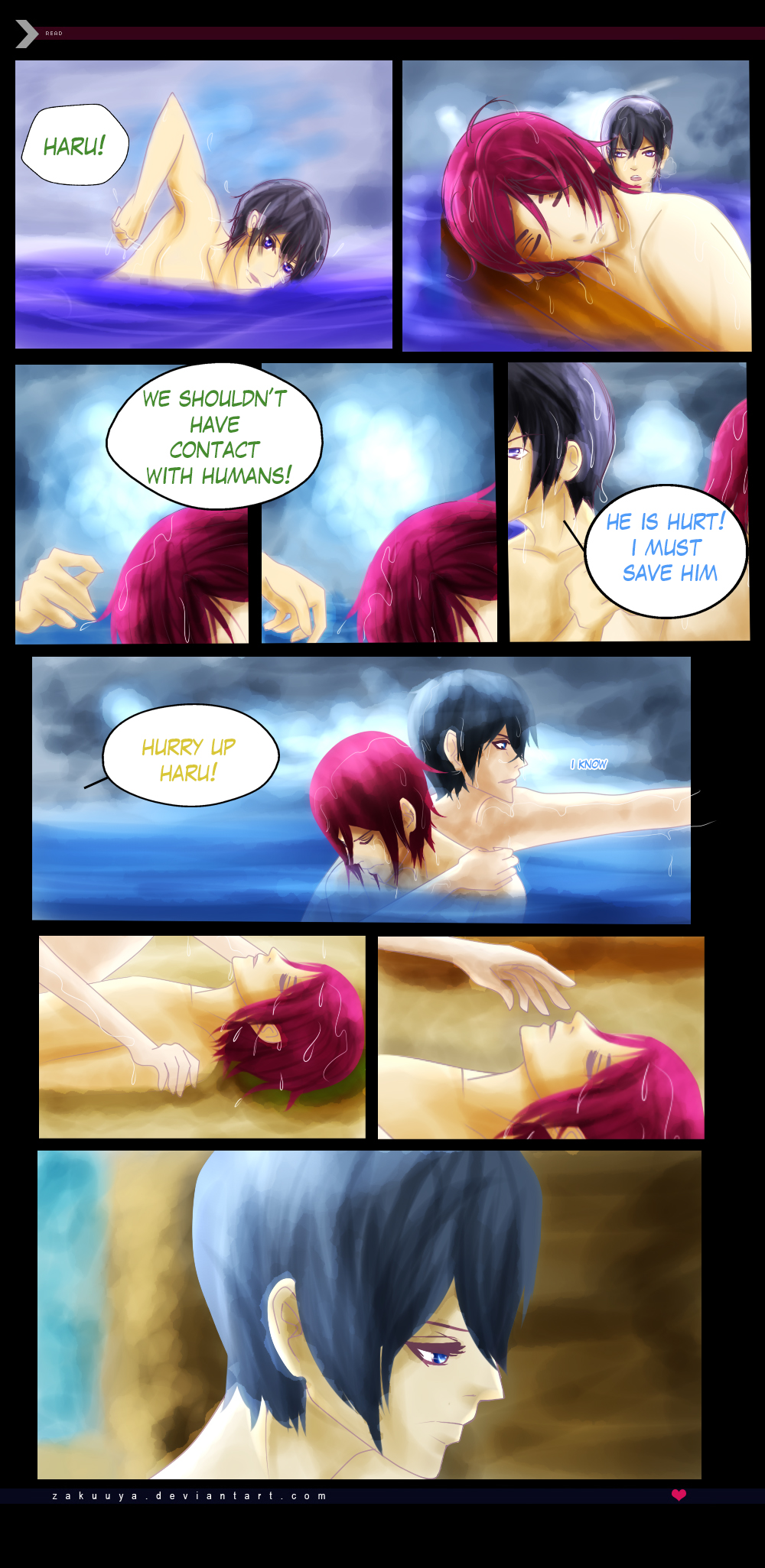 RinHaru: A Mermaid Tale 9 by Zakuuya