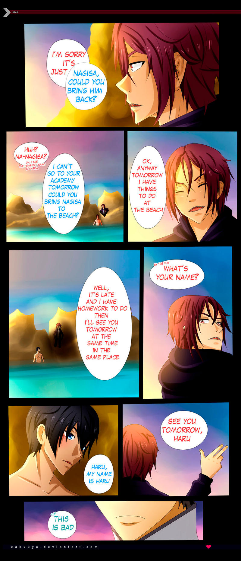 Rinharu A Mermaid Tale 17 By Zakuuya On Deviantart Did you scroll all this way to get facts about rin matsuoka? rinharu a mermaid tale 17 by zakuuya