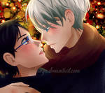 Happy holidays: Victuuri