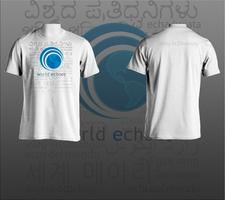 World Echoes T-shirt Design by james-talon