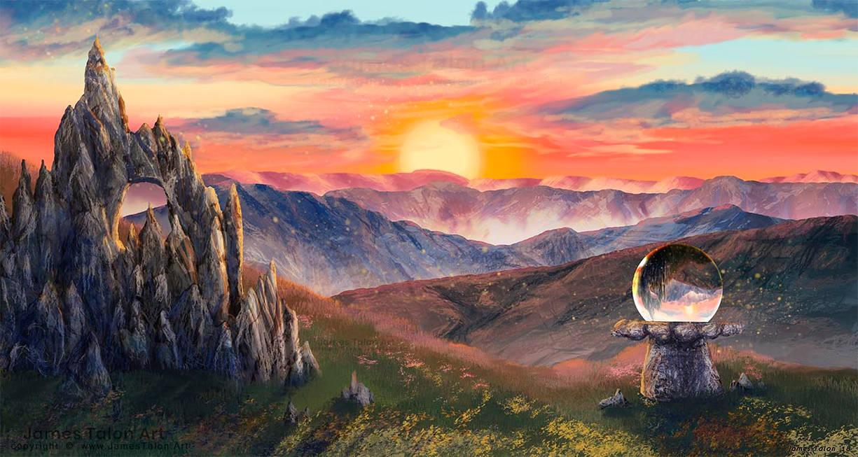 Furcadia Sunrise by james-talon