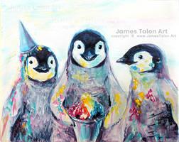 Penguins and Slushies