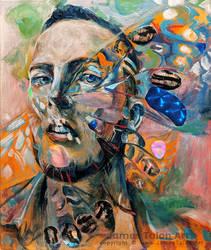 Metamorphasis of Self (self portrait)