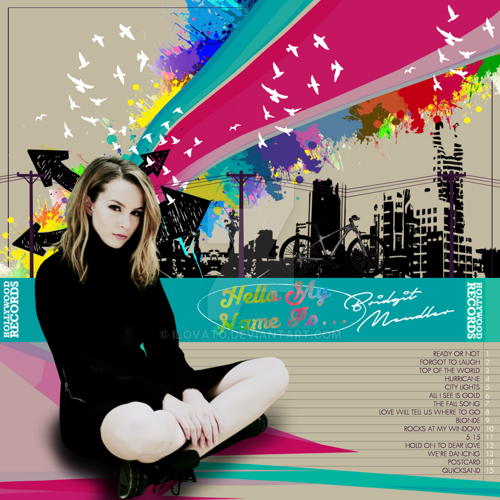 Bridgit Mendler Hello My Name Is By Ilovato On Deviantart