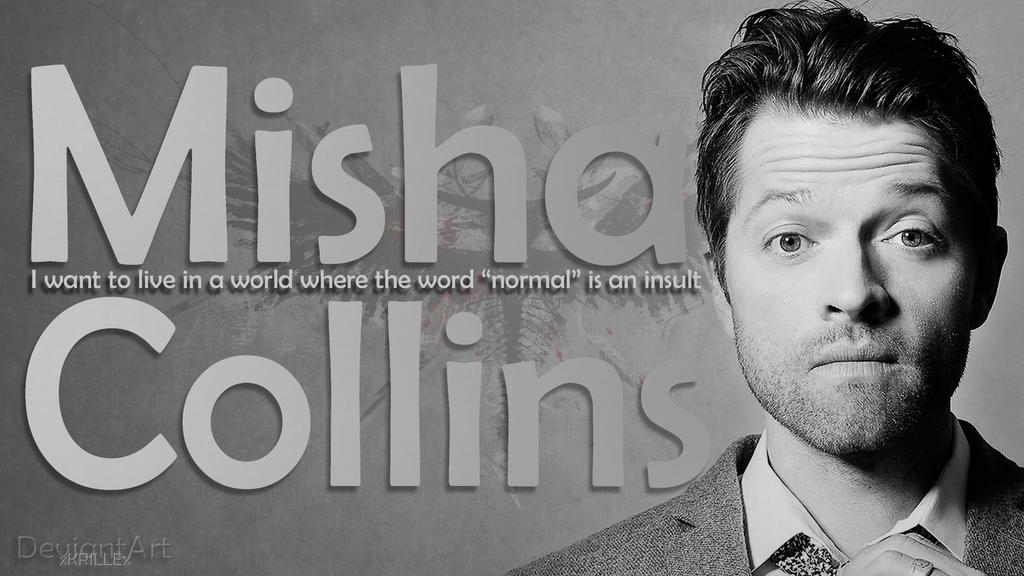 Misha Collins Wallpaper By XKRILLEx