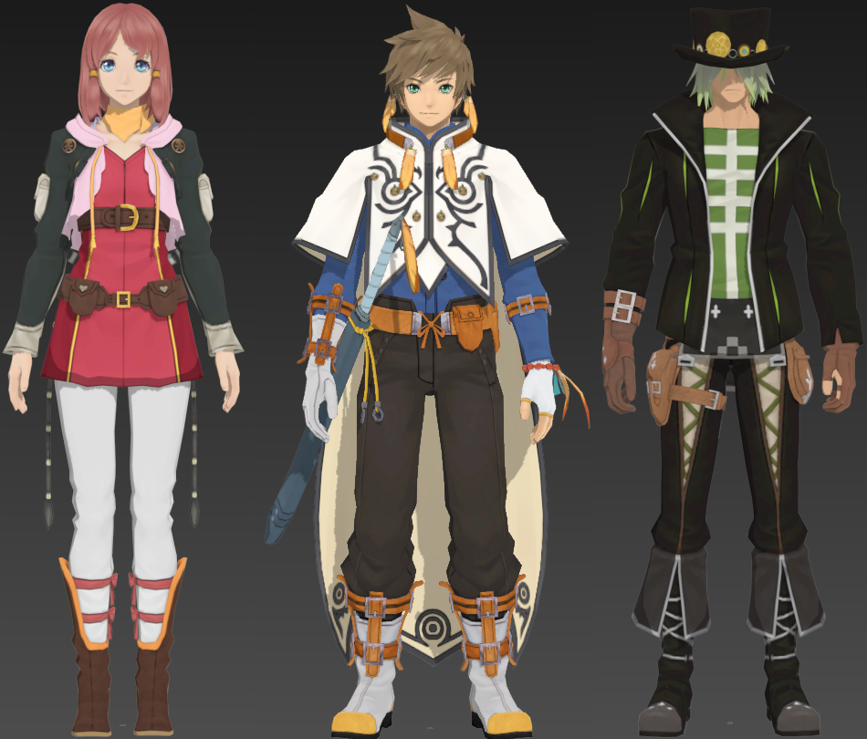 Tales of Zestiria Chars (Pack 2)