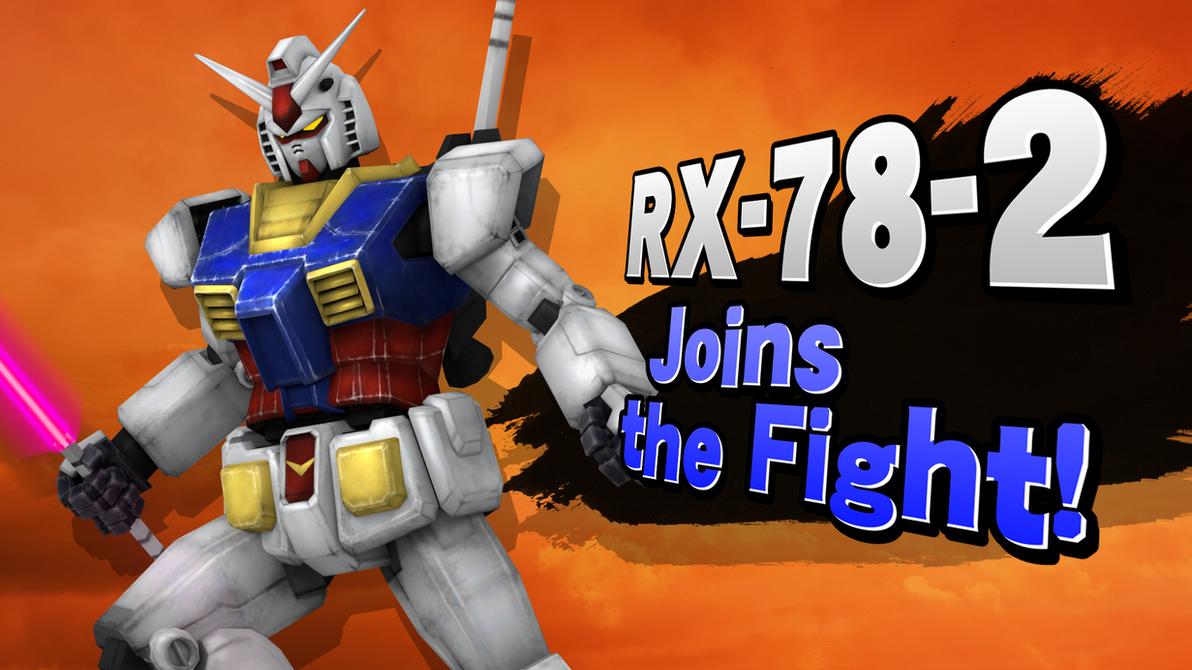 SmashU Chars - Gundam RX-78-2 by DSX8
